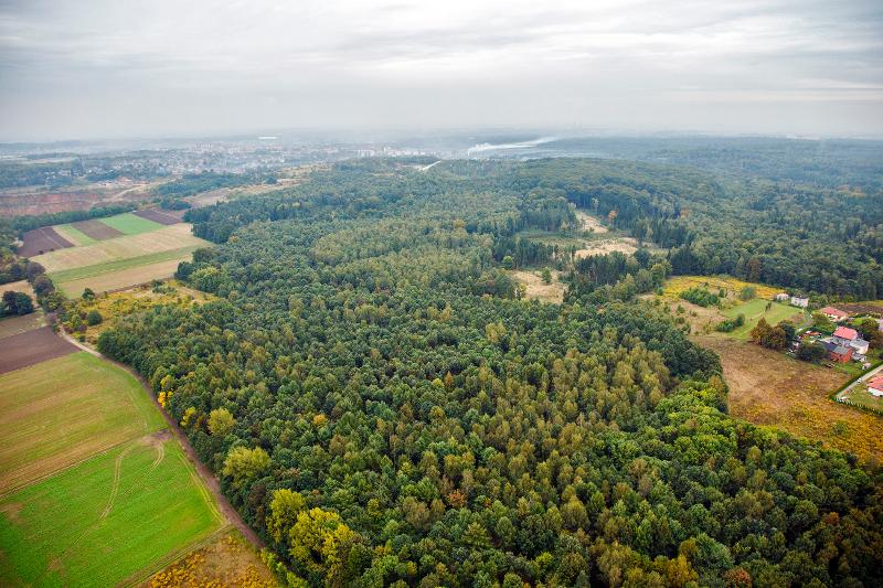 Krajobraz pogórniczy Srebrnej Góry fot. SMZT